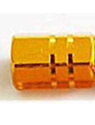 cor da tampa da válvula de liga de alumínio universal