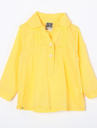 Baby Casual/Daily Solid Suit & Blazer,Cotton Fall-Red / Yellow