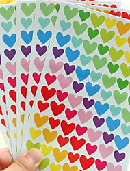 Wedding 6pcs Stickers Multi color