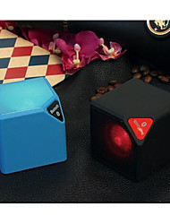mini-carte sans fil x3 mini haut-parleur conduit lampe extérieure subwoofer audio portable