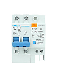 2P Leakage Protector / High Score Break Low Voltage Miniature Circuit Breaker Dz47-63 Air Switch