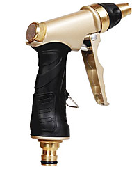 An Lushi Supply 2015 Latest Gold Paint Spray Gun Home Car Washing High Pressure Water Gun Spray Gun Garden