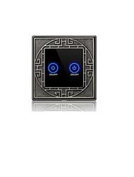 mur tactile intelligente interrupteur inductive (deux de commande unique ouvert)