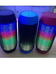 Ripple Music Colorful Wireless Bluetooth Car Speakers, LED Lights and Car Audio Card