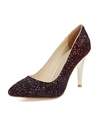 Women's Shoes Microfibre Spring / Summer / Fall Heels Heels Wedding / Office & Career / Party & Evening / Dress / Casual