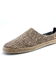 Men's Loafers & Slip-Ons Spring / Summer / Fall / Winter Comfort / Flats Canvas Casual Flat Heel Others