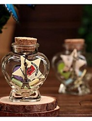 Birthday Party Favors & Gifts-1Piece/Set Gifts Petals Glass Classic Theme Heart-shaped Non-personalised Multi Color