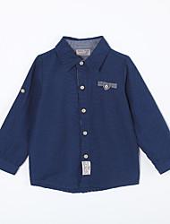 Jungen T-Shirt / Jeans / Anzug & Blazer-Lässig/Alltäglich einfarbig Baumwolle Herbst Blau