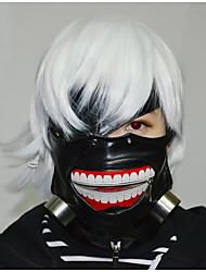 tokyo ghoul dekorative maske (materiale: pu)