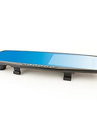 однообъективный зеркало заднего вида тахограф HD широкоугольный инфракрасного ночного видения анти блики