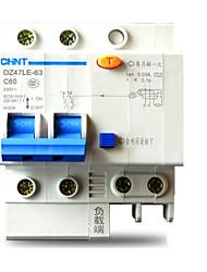 CHINT DZ47LE 2р c6-c60a миниатюрный автоматический выключатель