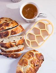 Homemade DIY German Bread Roller Kaiser Line Seal Cutter Mold Bread Embossing Mold Baking Tool Random Color