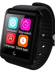 Masculino / Mulheres Smartwatch DigitalTouchscreen / Controle Remoto / Calendário / alarme / Podômetro / Monitores de Atividades
