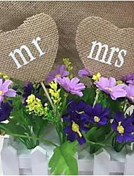 Jute Wedding Decorations-1Piece/Set Unique Wedding Décor Engagement / Wedding Garden Theme Brown