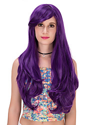 Purple long curly hair wig.WIG LOLITA, Halloween Wig, color wig, fashion wig, natural wig, COSPLAY wig.