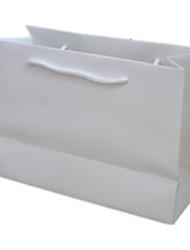 weiße Farbe, ein anderes Material Verpackung&Versand 32 * 44 * 11 Kraftpapiersäcke eine Packung von drei