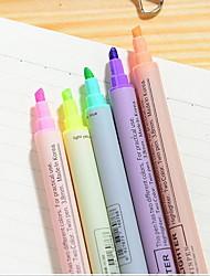Маркеры и маркеры Маркеры,Пластик Синий / Желтый / Лиловый / Оранжевый / Зеленый