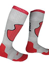 Skiing Socks Black RED