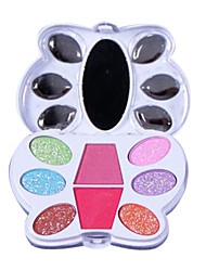 9 Lidschattenpalette Trocken Lidschatten-Palette Kompaktpuder Normal Alltag Make-up / Halloween Make-up / Party Make-up