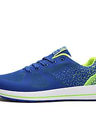 Черный / Синий / Серый-Мужская обувь-Для офиса / На каждый день / Для занятий спортом-Тюль-Кеды