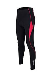 TASDAN Pantalones de Ciclismo Mujer Bicicleta Pantalones/Sobrepantalón Medias/Mallas Largas Pantalones Cortos AcolchadosTranspirable