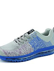 Men's Sneakers Spring / Fall Comfort Fabric Casual Flat Heel Green / Gray / Orange Walking