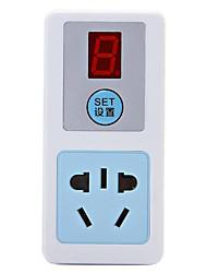 таймер зарядки специальный защитный автомат питания интеллектуальный электронный обратный отсчет