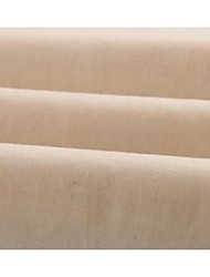 Cotton Plain Beige  Solid Holiday Fabric