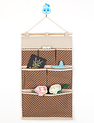 Six Pockets Behind The Door Dot Storage Bag