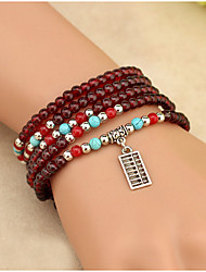 Strand Bracelets Glass Irregular Vintage Daily / Casual Jewelry  Random Charm Christmas Gifts