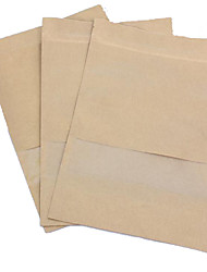Kraft Paper Food Packaging Bags Tea Bags Plastic Zipper  Self-Styled  Kraft Paper Bag A Pack Of Ten