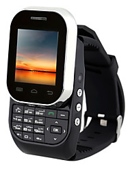 "Kenxinda w1 ≤3 "" Android 5.1 Horloge Telefoon ( Single-SIM Overige 0.8 MP <256MB + n.v.t. Zwart / Wit )"