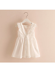 The New Children'S Clothing Girls Vest Skirt Children Sleeveless Dress Baby