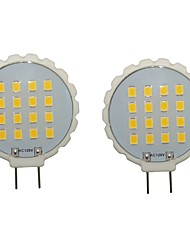 3W G8 Luces LED de Doble Pin T 16 SMD 2835 300-350 lm Blanco Cálido / Blanco Fresco Decorativa / Impermeable AC 100-240 / AC 110-130 V2