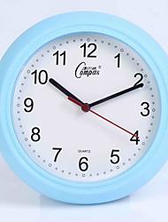 (Случайный цвет) 12 дюймов спальня офис модно гостиной немой Супе контракт кварцевые часы