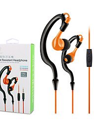 ZONOKI KM-R02 Sports Earphones Running Waterproof Sweatproof with MIC in-ear Headset Headphone