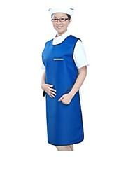 protector radiación de rayos X delantales de plomo de protección falda de plomo FLM dental (se vende azul)
