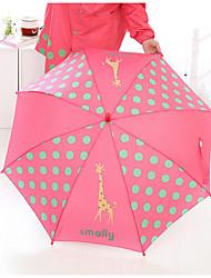 Rojo / Azul / Amarillo Paraguas Soleado y lluvioso textil niños