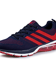 Men's Flywire Fabric Breathable Mesh Running Shoes with Air Cushion