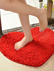 Red Heart-Shaped to the Mat