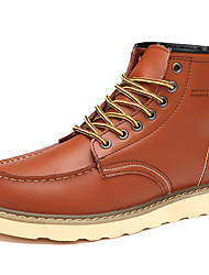 Autumn Witer New Arrival Men's Genuine Leather Casual Combat Boots for Keeping Warm for Party