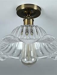 40W Retro Mini Style Glass Pendant Lights Living Room / Bedroom / Dining Room / Study Room/Office / Kids Room / Hallway