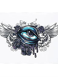 1pc Sexy Product Blue Eye Decal Temporary Tattoo Waterproof Makeup Women Men Body Art Tattoo Sticker HB-189