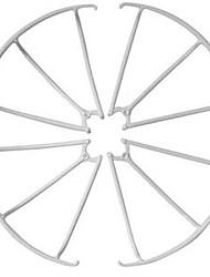 MJX X101-2 White Plastic Propeller Guards 1 Piece