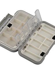 Anmuka Коробки для рыболовных снастей Коробка для рыболовной снасти Водонепроницаемый / Многофункциональный 1 Поднос 16*9*4.5 Пластик