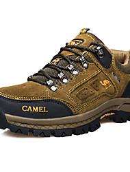 Women's Shoes Suede Spring / Fall Comfort Sneakers Casual Flat Heel Brown / Green Sneaker