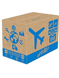 couleur jaune d'autres emballages de matériel&expédition 10 # trois couches cartons d'emballage dur un pack de dix-sept