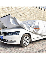 The Aluminum Film Is Semi Automatic Semi Intelligent Car Garment Car Cover Sun Rain Insulation