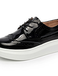 Women's Buluoke Fashion Trend Thick Soles Casual Lace-up Skateboarding Shoes/Flats for Walking