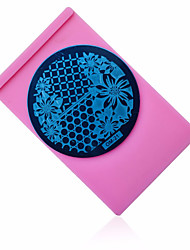 Nail Art Plate Holder Stamp Image Plate Case Stand Tray Stamping Template Polish Print Stencil Nail Tools